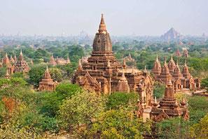 Myanmar, Pagode, Kloster, Buddhismus, schwimmende Gärten, Fotostock preiswert