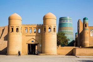 Seidenstrasse, Usbekistan, Turkmenistan, Unesco Welterbe, Fotostock preiswert