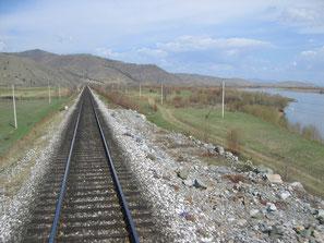 unterwegs mit der Transsib am Baikalsee