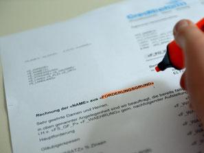 Inkassounternehmen müssen nun neue Regeln beachten und erhoffen sich dadurch einen besseren Ruf. Foto: Britta Pedersen
