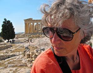 auf dem Akropolis-Plateau