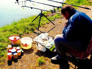 die Ausrüstung der Hobby-Fischer war sehr speziell
