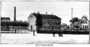 In der Altstadtschule war auch die zweiklassige Knabenselecta unteregebracht.