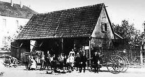 Spritzenhaus Königstraße um 1905 (heute Volkshochschule)