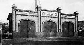 Zeugstätte ab 1906 an der Strenger Straße