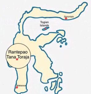 Sulawesi Tana Toraja - Rantepao - Weltreise Blog und Reiseziele - Travel um die Welt