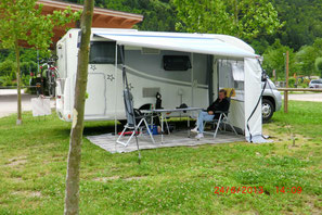 Schöner Campingplatz