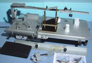 Eine Styrocut vor 2004 mit Transformator