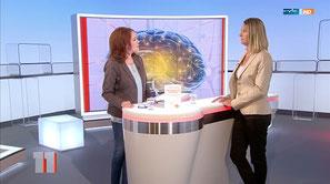Cornelia Stolze (Wissenschaftsjournalistin) in 'MDR um 11' beim MDR am 13.07.2016