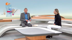 Cornelia Stolze (Medizinjournalistin) in 'ZDF-Mittagsmagazin' beim ZDF am 31.08.2016