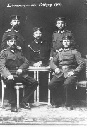 Erinnerung an den Feldzug 1914