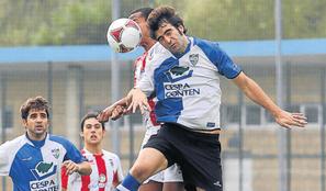 Zalla y Laudio empataron en Liga en Landaberri. Foto: Mundo Deportivo.
