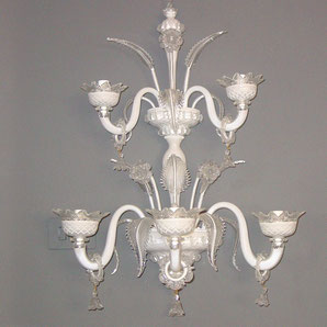 white-murano-chandeliers-wall-lamp-5-lights