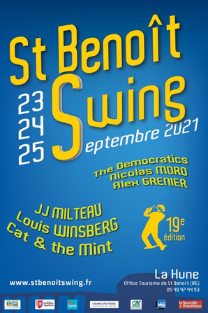 Affiche St Benoit Swing