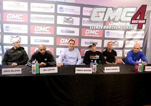 GMC4 | German MMA Championship | Pressekonferenz