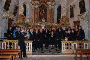 concerto nella Pieve di Calceranica