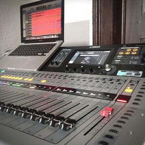 Blackhole Music & Productions Yamaha TF-5 Macbook Live Technik