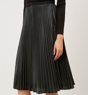 Hobbs metallic skirt