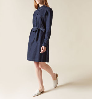 Hobbs denim dress