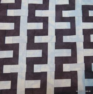 """Japanische Flechttechnik, Muster """"Schlangenlinien"""""""