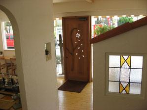 店舗用ドア 木のドア