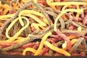 Frische Pasta dreifarbig Käse-Ober in Grafing