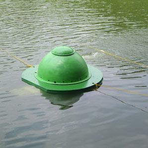 Floating micronanobubbling system UFO