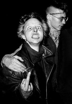 Punks in Kreuzberg, 1982