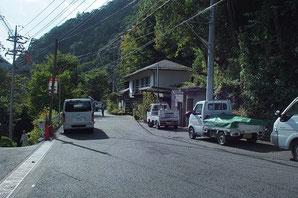 鳩ノ巣トンネル脇 青梅街道旧道