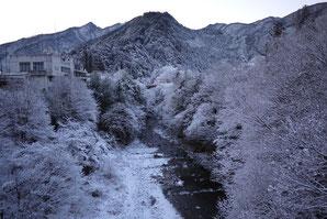 北氷川橋からの氷川渓谷