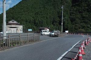 花折トンネル脇 青梅街道旧道
