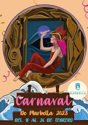 Cartel del Carnaval de Marbella 2017