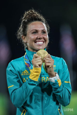 2016: Chloe Esposito wins Australia's first-ever medal in Pentathlon....and it's gold!