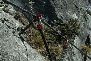Klettersteigset Funktionsweise : Klettersteiggehen wizi´s bergwelt das tourenportal