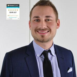 Moritz Werkmeister ist Experte der Fahrradversicherung