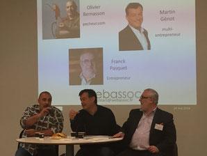 Olivier Bernasson, Martin Génot, Franck Pasquet