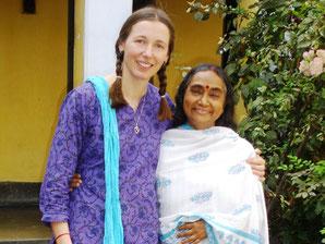 Marion and Ammaji, 2006, Kolkata