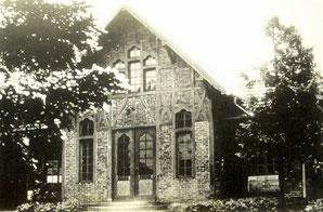 dudweiler, saarbruecken, friedhof, alte leichenhalle, einsegnungshalle, 1907