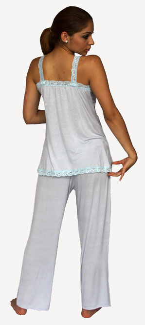 LIGHT BLUE MATERNITY PAJAMA