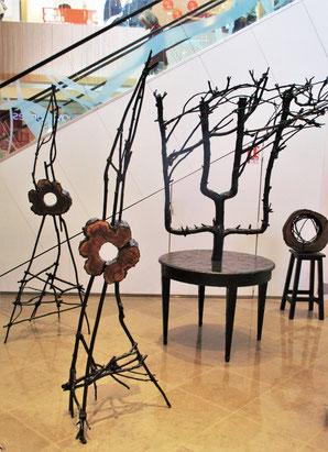 GRISY CODE expose un ensemble d'œuvres originales de Roman Gorski     Centre Commercial des 3 Fontaines   Cergy-Pontoise     du 9 au 16 septembre 2017