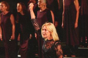 Johanna Mertinz - Rolle: Hekuba (Troerinnen, Theater Wolkenflug)