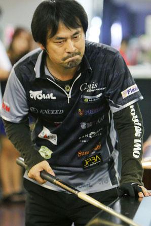 Hiroshi Takenaka won 2017 JPBA Grand Prix West stop#3