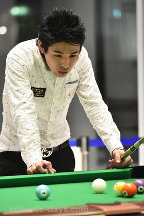 Tomoya Iima won 2017 Hokkaido Open (9-ball )