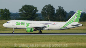 Sky Airlines *** A 320-211 *** TC-SKJ