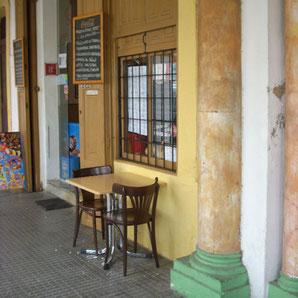 """Ohne Worte - """"Restaurant""""-Terrasse in Ibiza-Stadt entdeckt im Sommer 2015"""