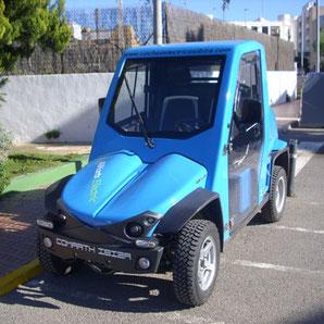 Elektro-Auto in Ibiza