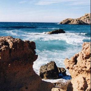 Cala Tarida bei Sant Josep