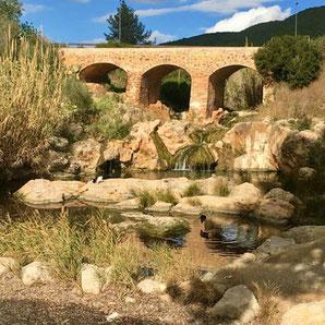 Die alte Brücke - Puente Vijeo - in Santa Eulalia