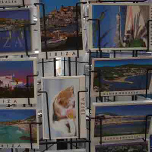 Postkarten von Ibiza