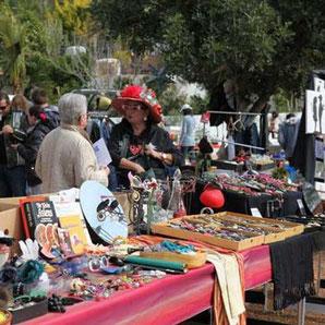 Trödelmarkt Ibiza Cala Llenya